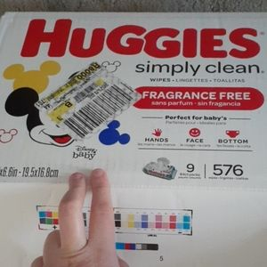 Huggies Other - Huggies Simply Clean Fragrance Free Wipes